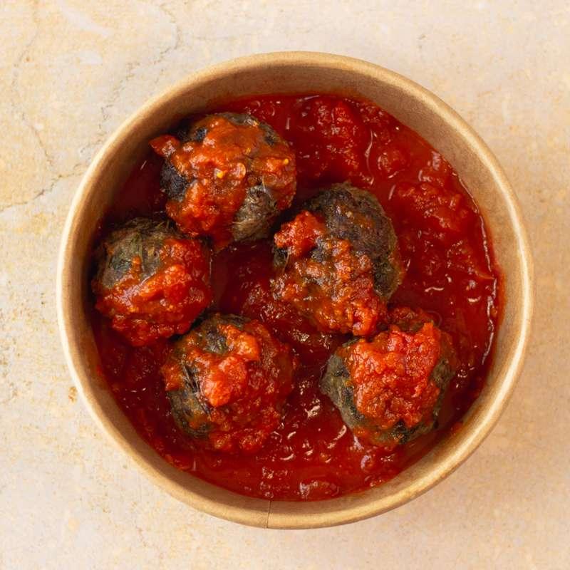 Boulettes de viande hachée à la sauce tomate (x 5, 270 g)