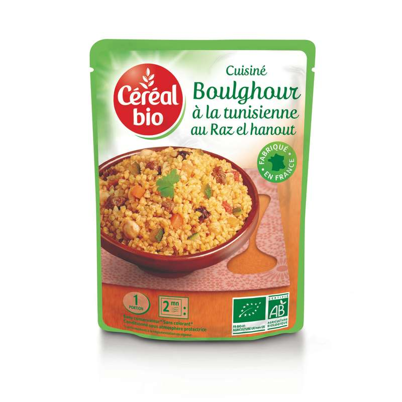 Boulghour à la Tunisienne BIO, Céréal Bio (220 g)