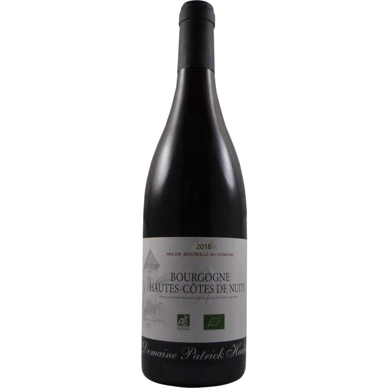 Bourgogne Hautes Côtes de Nuits AOP Domaine Patrick Hudelot 2018 BIO (75 cl)