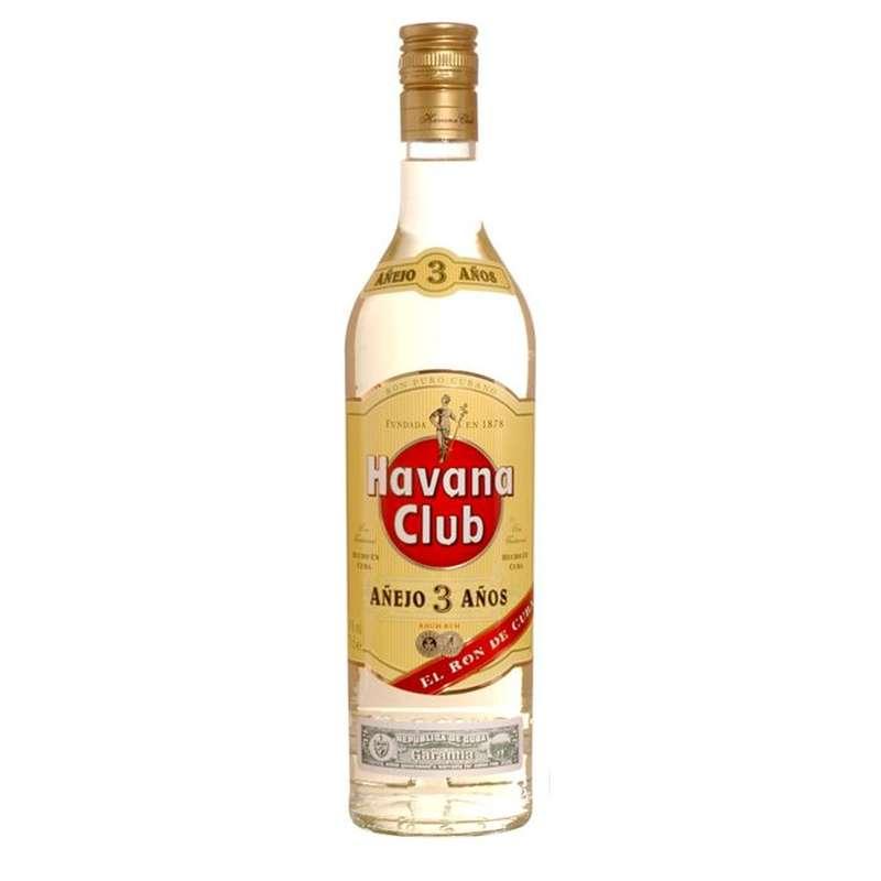 Rhum Havana Club 3 ans 40° (70 cl)