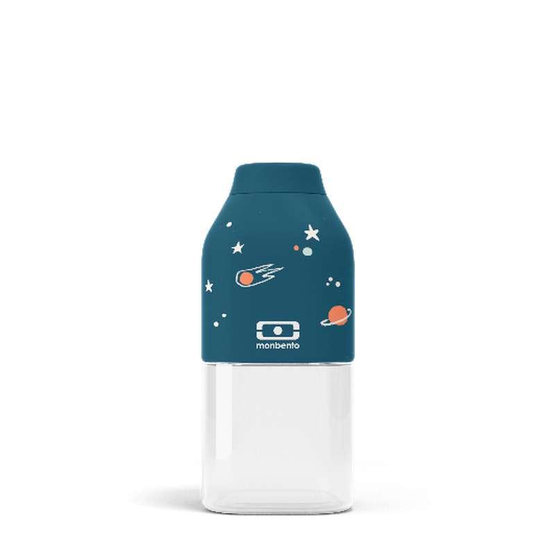Bouteille réutilisable enfant - bleu Cosmic, Monbento (33 cl)