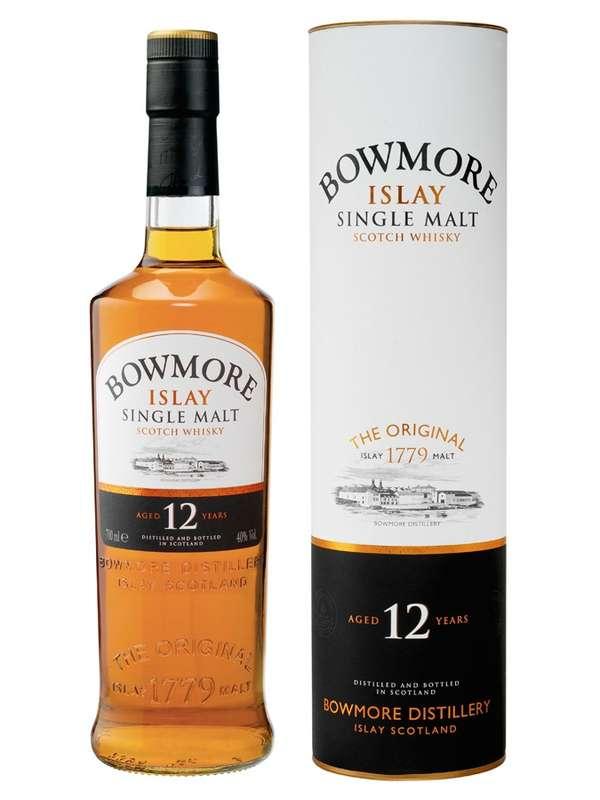 Whisky Bowmore 12 ans d'âge (70 cl)