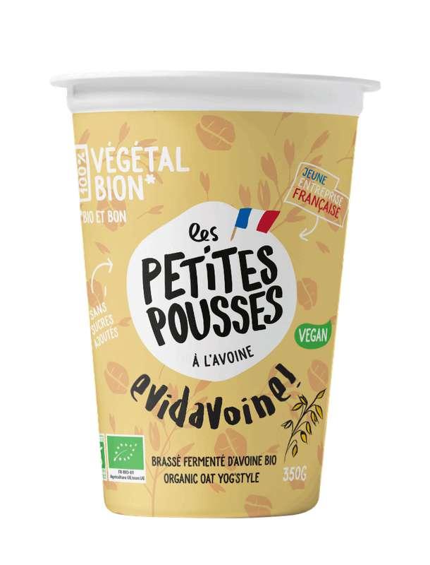 Brassé fermenté à l'avoine BIO, Les Petites Pousses (350 g)
