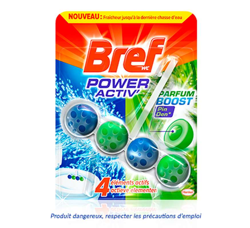 WC Bloc Power Activ 4 Actions pin, Bref