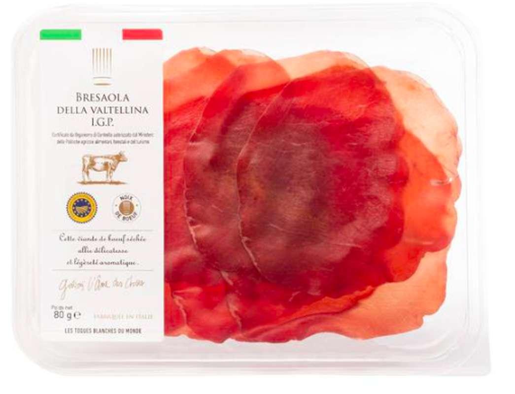 Bresaola Della Valtellina IGP, Les Toques Blanches du Monde (80 g)