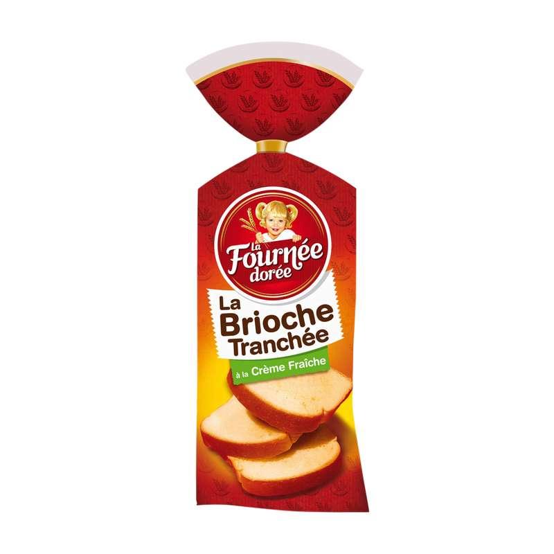Brioche tranchée à la crème fraîche, La Fournée Dorée (500 g)