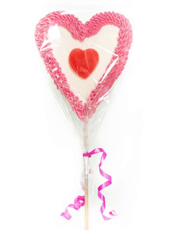 Brochette de bonbons Heartpop, Tonton Pierrot (60 g)
