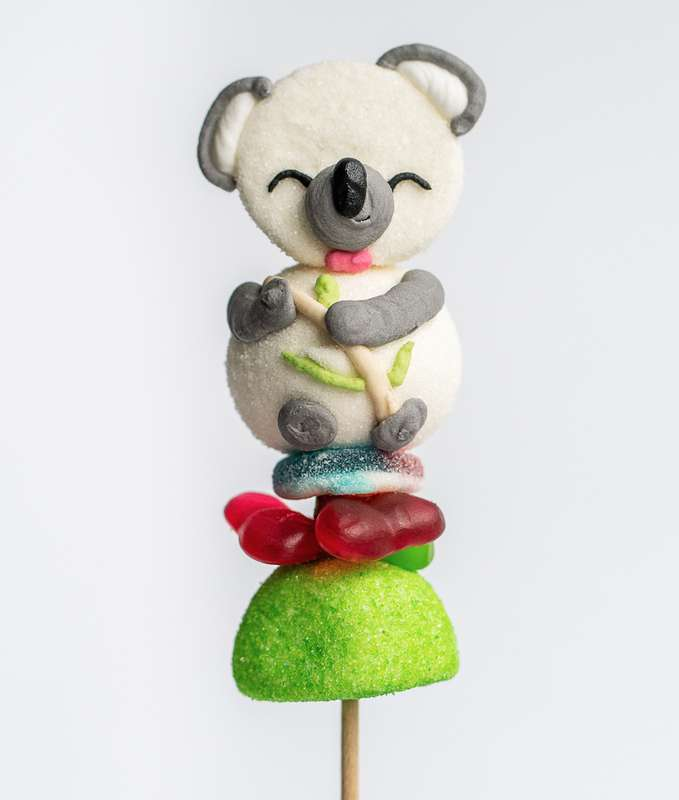 Brochette de bonbons Koala, Tonton Pierrot (55 g)