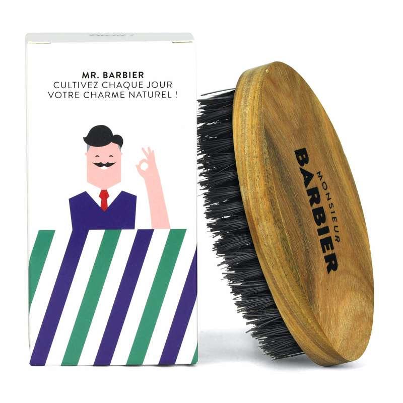 Brosse à barbe vegan, Monsieur Barbier