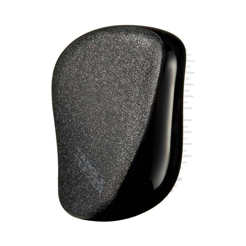 Brosse à cheveux Compact Styler Black Glitter, Tangle Teezer
