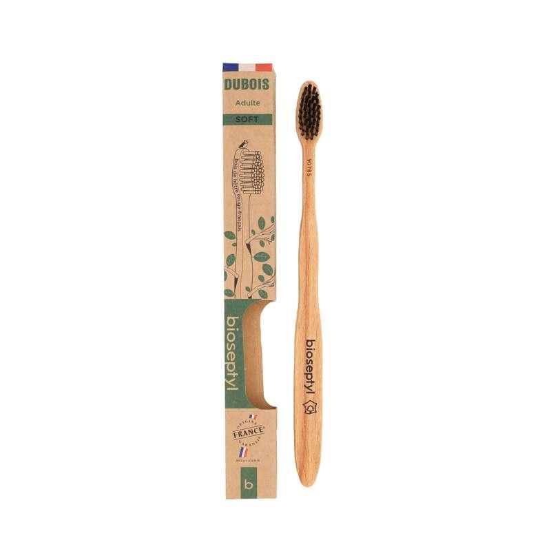Brosse à dent en bois de hêtre, Bioseptyl