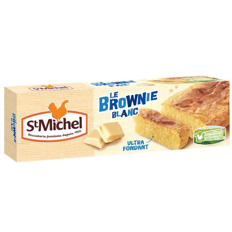 Brownie chocolat blanc, St Michel (240 g)