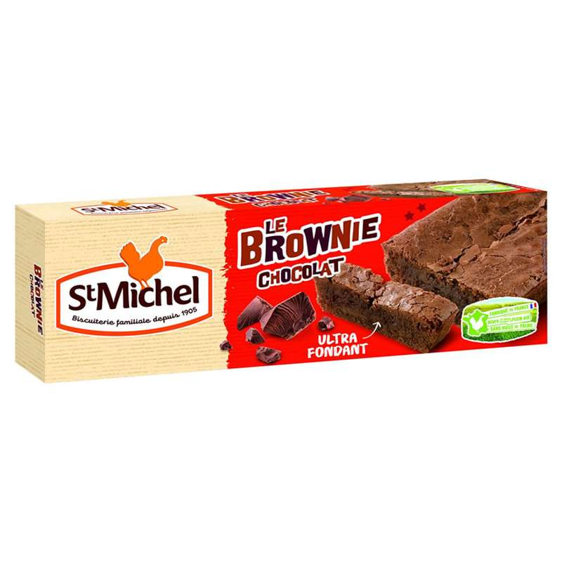 Le brownie chocolat, Saint Michel (240 g)