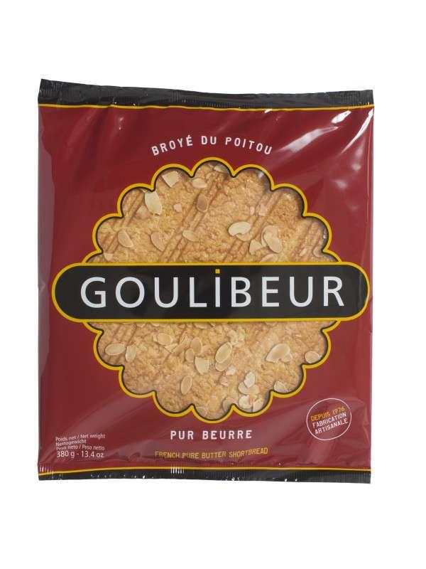 Broyé du poitou pur beurre aux amandes, Goulibeur (380 g)