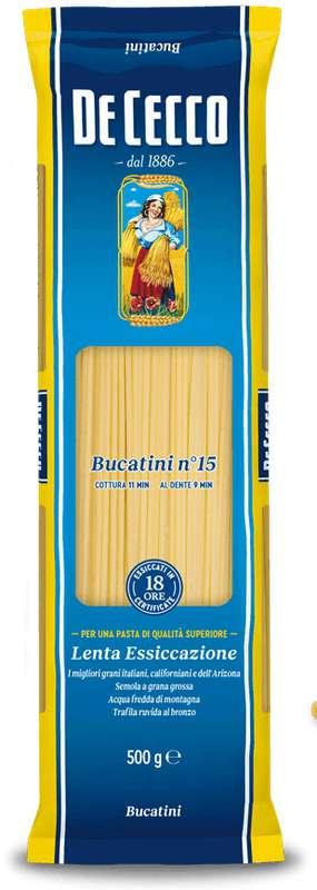 Bucatini, De Cecco n°15 (500 g)