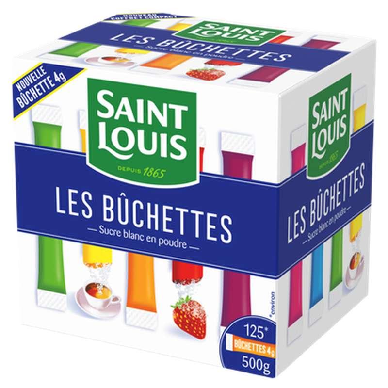 Buchette de sucre en poudre, Saint Louis (125 x 4 g)