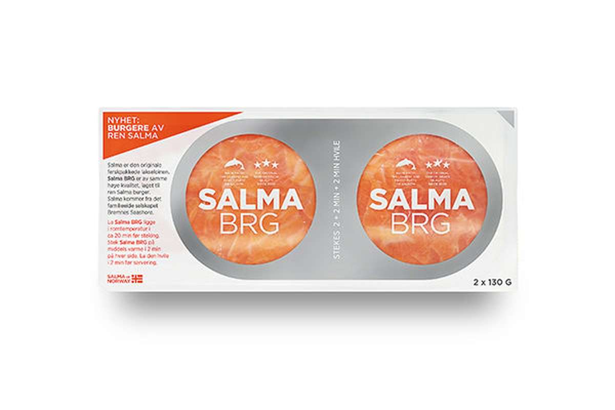 Burger de saumon Salma (2 x 130 g)