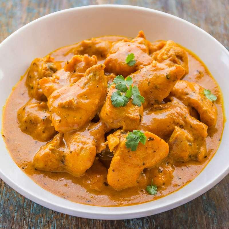 Butter Chicken (300 g, pour 1 ou 2 personnes, sans riz)