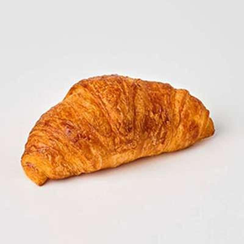 20 mini croissants sur plateau noir