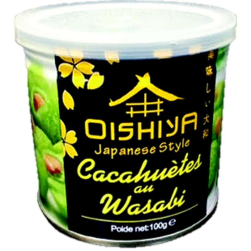 Cacahuètes au wasabi, Oishiya (100 g)