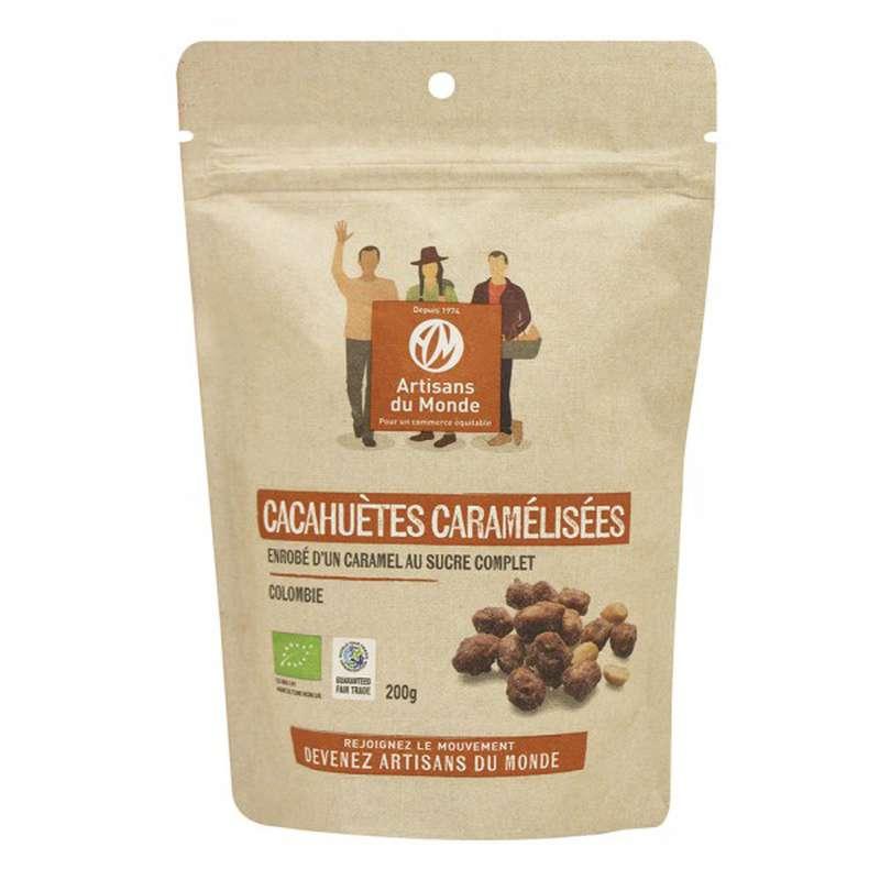 Cacahuètes caramélisées BIO, Artisans du monde (200 g)