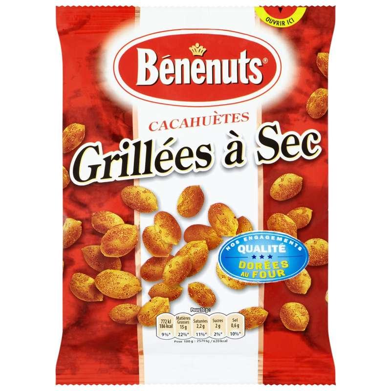 Cacahuètes grillées à sec, Bénénuts (200 g)