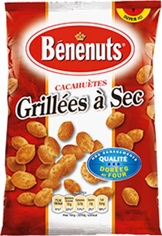 Cacahuètes grillées à sec, Bénenuts (120 g)