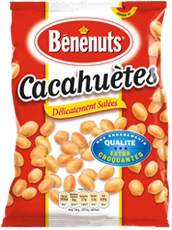 Cacahuètes grillées et salées, Bénenuts (220 g)