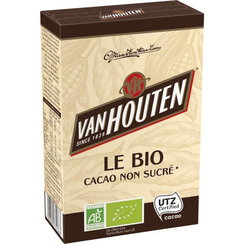 Cacao non sucré BIO, Van Houten (125 g)