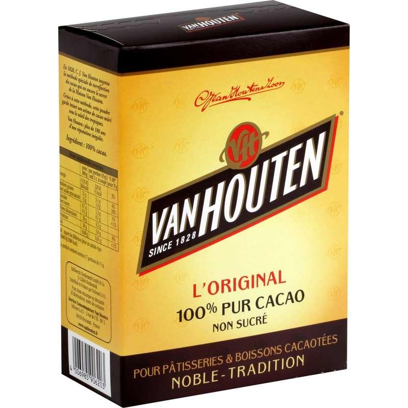 Cacao pur, Van Houten (255 g)