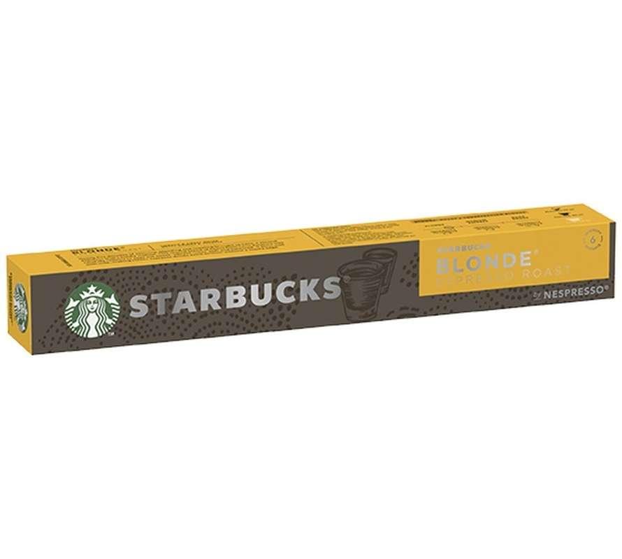 Café capsule Blonde Espresso Roast, Starbucks by Nespresso (x 10)