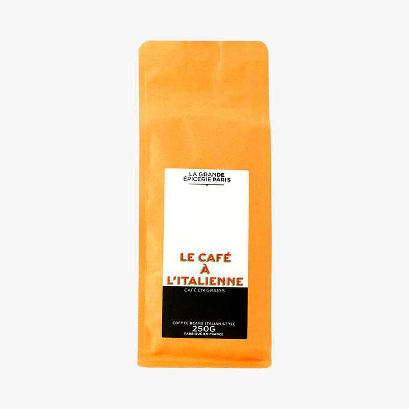 Café en grains à l'italienne, La Grande Epicerie de Paris (250 g)