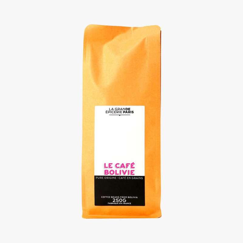 Café en grains pure origine Bolivie, La Grande Epicerie de Paris (250 g)