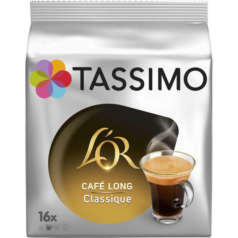 Café dosette Café Long Classique, L'or Tassimo (x 16)