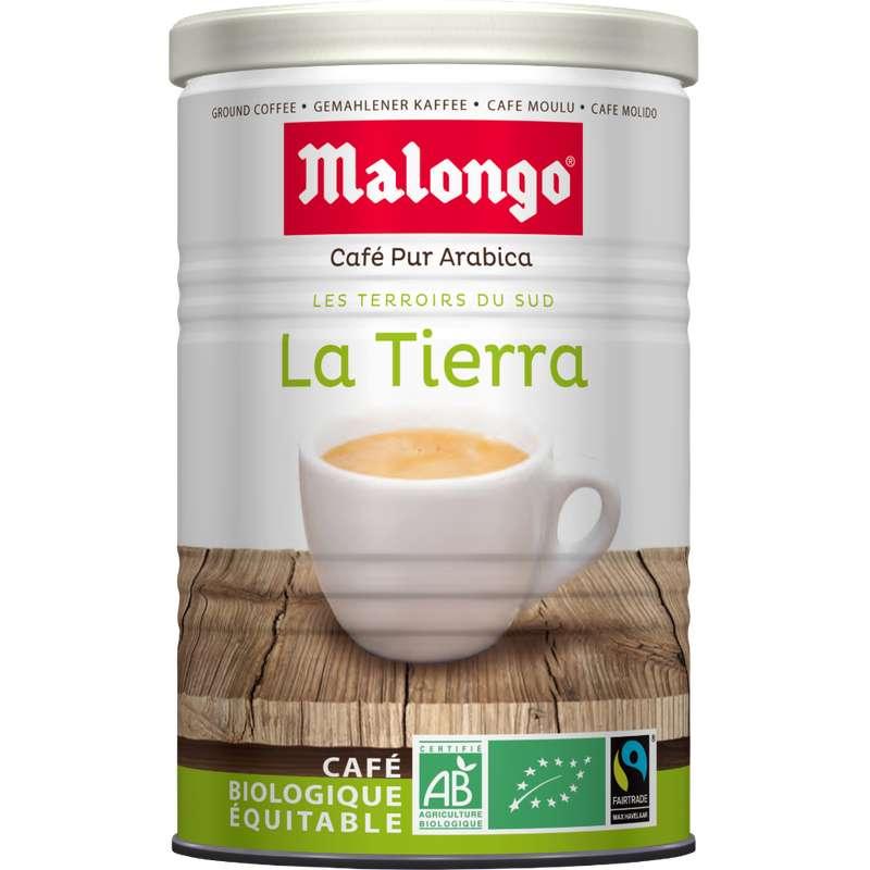Café moulu La Tierra BIO, Malongo (250 g)