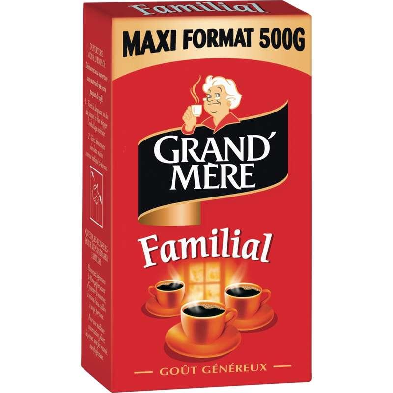 Café moulu, Grand Mère (500 g)