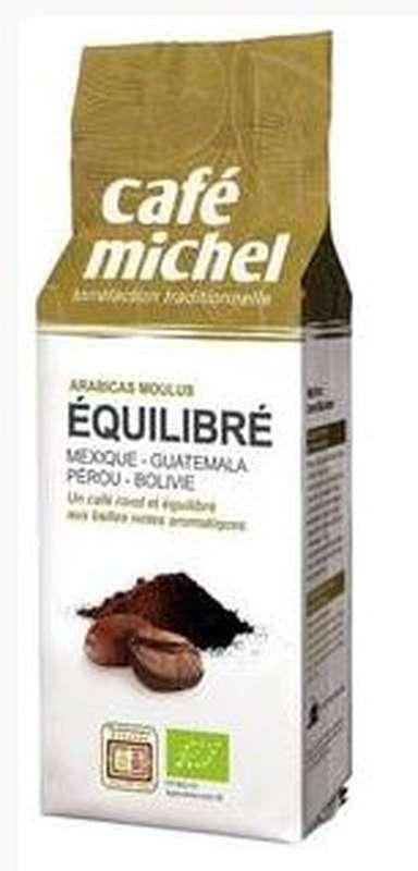 Café moulu mélange équilibré BIO, Café Michel (250 g)