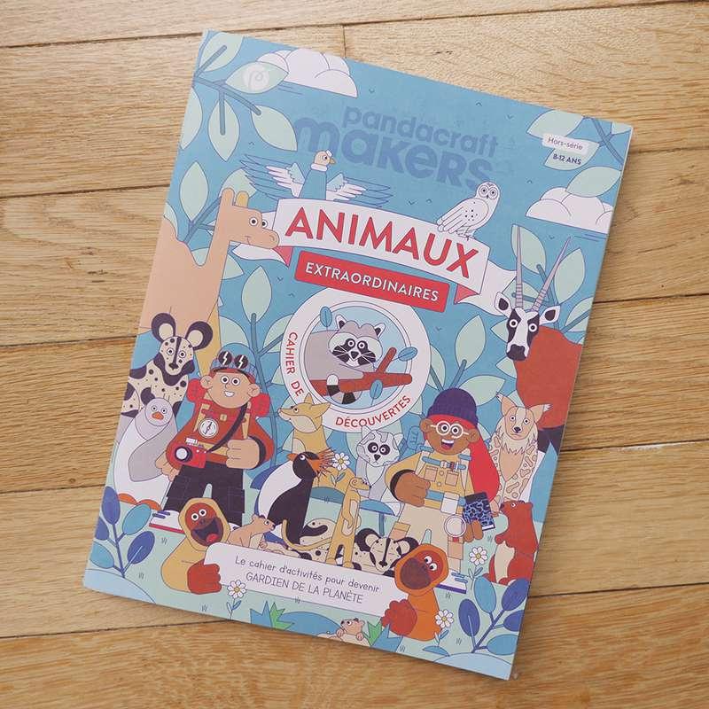 Cahier de découvertes Animaux Extraordinaires 8-12 ans, Pandacraft