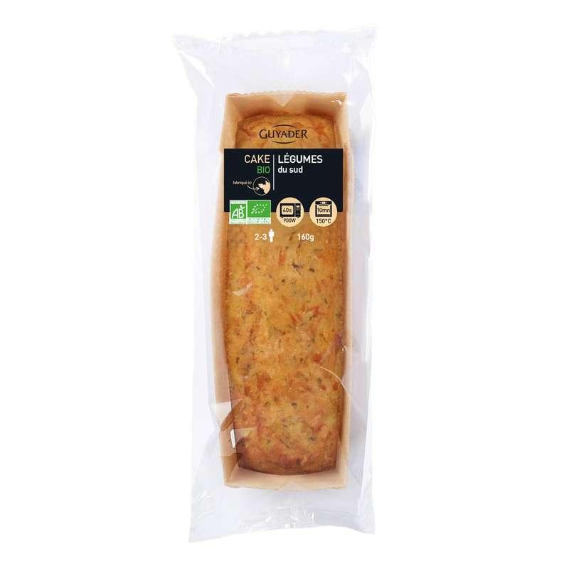 Cake BIO aux légumes du sud, Guyader (160 g)