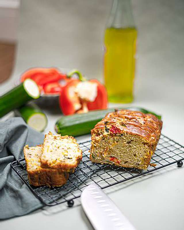 Cake Courgettes et Poivrons, Le Bar à Cake (600 g)