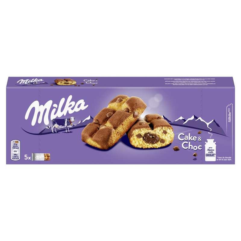 Cake & Choc, Milka (x 5, 175 g)