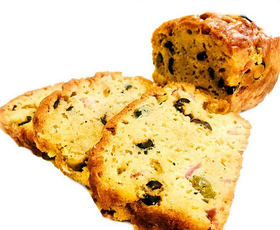 Cake Jambon Olives, Le Bar à Cake (600 g)