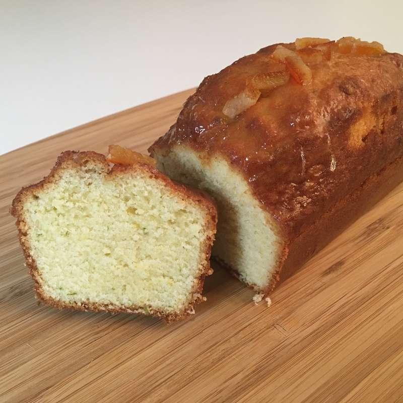 Cake aux agrumes artisanal (500 g) / à commander 48h à l'avance