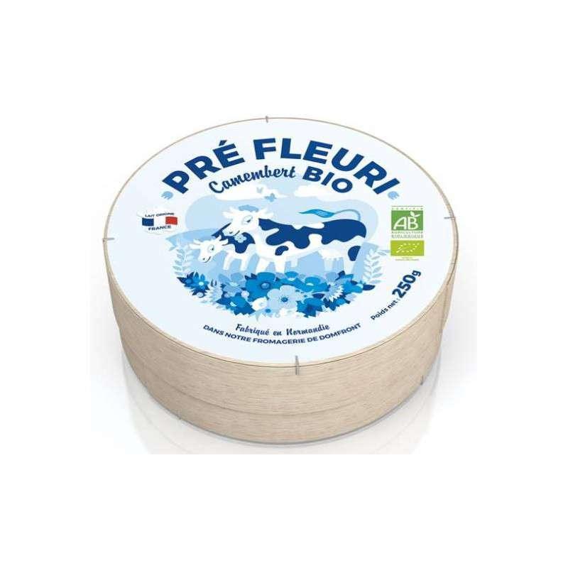 Camembert au lait pasteurisé BIO, Pré Fleuri (250 g)