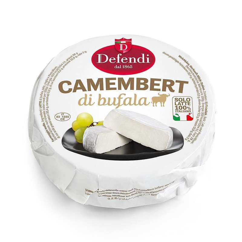 Camembert de bufflonne, Defendi (environ 250 - 280 g)