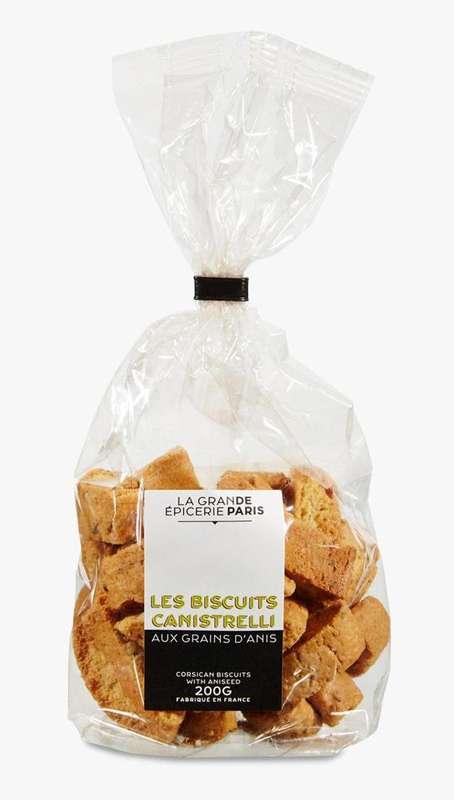 Canistrelli à l'anis, La Grande Epicerie de Paris (200 g)