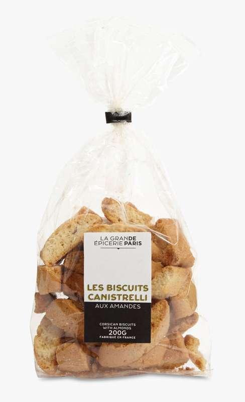Canistrelli aux amandes, La Grande Epicerie de Paris (200 g)
