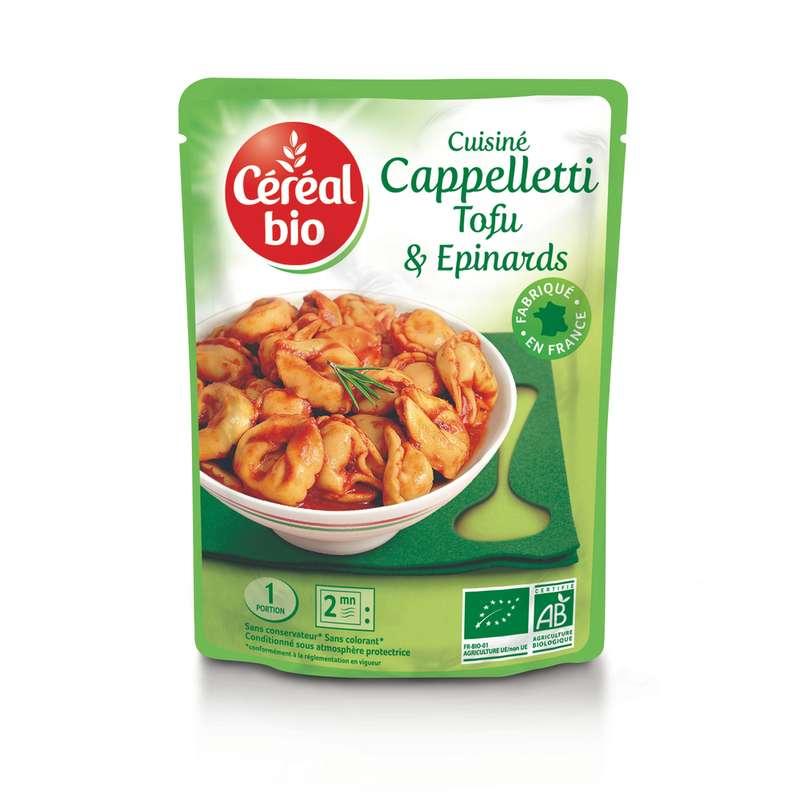 Capelletti au tofu et épinards BIO, Céréal Bio (220 g)