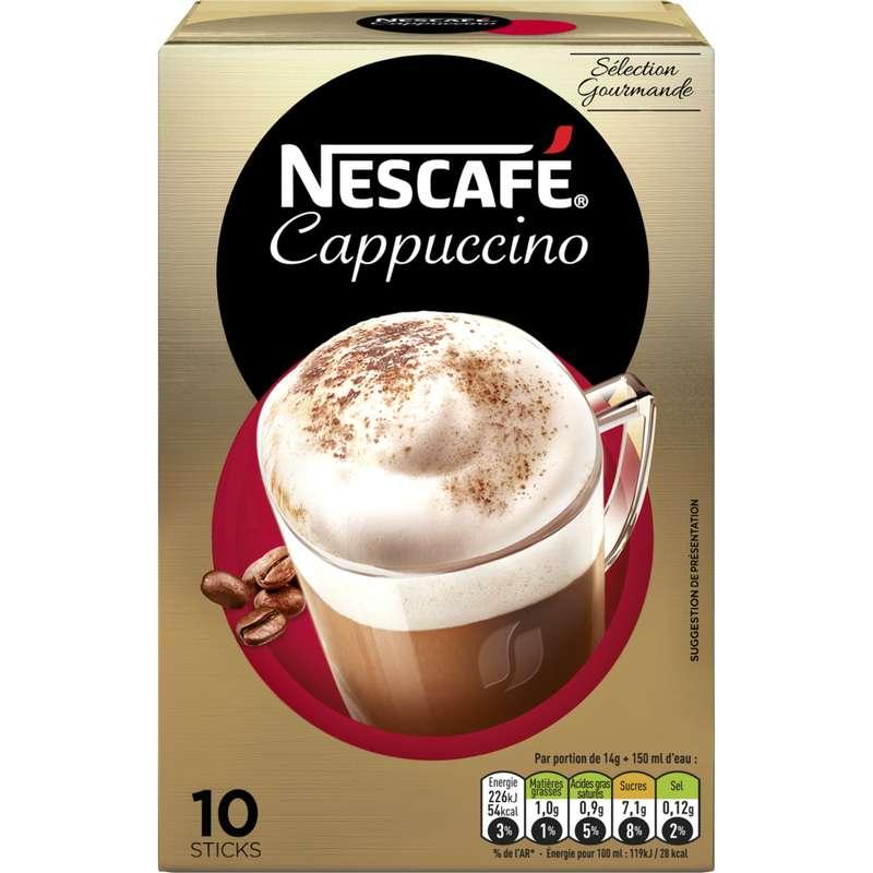 Cappuccino, Nescafé (10 sticks)