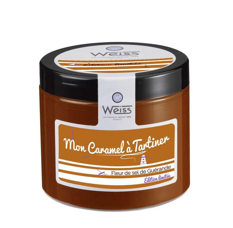 Caramel à la fleur de sel de Guérande à tartiner, Weiss (250 g)